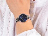 srebrny Zegarek  Bransoleta RNBE31SIDX03BX - duże 6