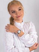 srebrny Zegarek  Bransoleta RNBE32SISX03BX - duże 4