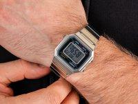srebrny Zegarek  VINTAGE Maxi B650WD-1AEF - duże 6