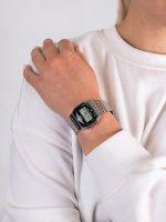 Casio Vintage ZESTAW-19-CV-GIFT-SET-SILVER damski zegarek Vintage bransoleta