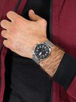 srebrny Zegarek Adriatica Bransoleta A1066.5124Q - duże 5