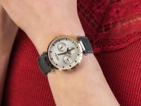 srebrny Zegarek Adriatica Pasek A3703.9G47QF - duże 6