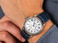 srebrny Zegarek Aerowatch 1942 76983-AA01 - duże 6