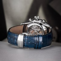srebrny Zegarek Aerowatch Les Grandes Classiques 61989-AA04-SQ - duże 7