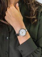 srebrny Zegarek Bering Classic 11334-770 - duże 5