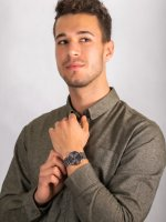 srebrny Zegarek Bering Classic 14240-308 - duże 4