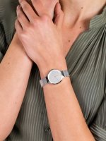 srebrny Zegarek Bering Classic 14531-000 - duże 5
