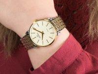 srebrny Zegarek Bisset Klasyczne BSBE54TIGX03B1 - duże 6