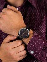srebrny Zegarek Bulova Classic 98A187 - duże 5
