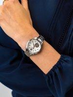 srebrny Zegarek Bulova Diamond 96P181 - duże 5