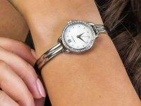 srebrny Zegarek Caravelle Bransoleta 43L213 - duże 6