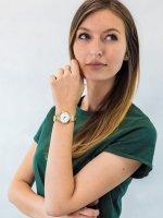 srebrny Zegarek Caravelle Bransoleta 44P102 - duże 4