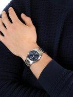 srebrny Zegarek Casio EDIFICE Momentum EF-125D-2AVEF - duże 5