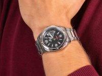 srebrny Zegarek Casio EDIFICE Momentum EF-129D-1AVEF - duże 6