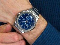 srebrny Zegarek Casio EDIFICE Momentum EFR-S567D-2AVUEF - duże 6