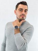 srebrny Zegarek Casio EDIFICE Momentum EFV-C100D-1AVEF - duże 4