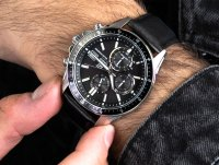 srebrny Zegarek Casio EDIFICE Premium EFS-S510L-1AVUEF - duże 6