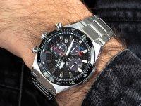 srebrny Zegarek Casio EDIFICE Premium EFS-S520CDB-1AUEF - duże 6