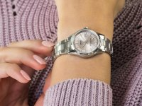 srebrny Zegarek Casio Klasyczne LTS-100D-4AVEF - duże 6