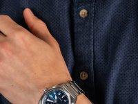 srebrny Zegarek Citizen Automat NJ0100-89L - duże 6