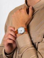 srebrny Zegarek Citizen Ecodrive AR1130-13A - duże 5