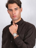 srebrny Zegarek Citizen Ecodrive BM8530-11XE - duże 4