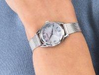 srebrny Zegarek Citizen Ecodrive EM0681-85D - duże 6