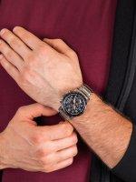 srebrny Zegarek Citizen Radio Controlled AT8129-80E - duże 5