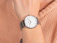 Cluse CW0101201023 Silver White zegarek klasyczny La Boheme