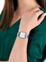 srebrny Zegarek Cluse La Tetragone CL60025S - duże 5