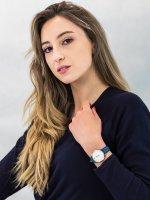srebrny Zegarek Cluse Minuit CL30030 - duże 4
