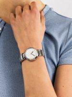 srebrny Zegarek Esprit Damskie ES109032001 - duże 5