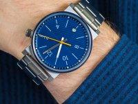 srebrny Zegarek Fossil Barstow FS5509 - duże 6