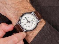 srebrny Zegarek Fossil Barstow FS5510 - duże 6