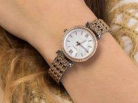srebrny Zegarek Fossil Carlie ES4649 - duże 6