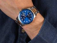 srebrny Zegarek Fossil FB-01 FS5654 - duże 6