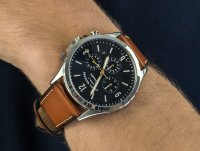 srebrny Zegarek Fossil Forrester FS5607 - duże 6