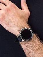 zegarek Fossil Smartwatch FTW4041 GEN 5 SMARTWATCH GARRETT HR BLACK SILICONE męski z gps Fossil Q