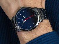 srebrny Zegarek Fossil The Minimalist FS5377 - duże 6