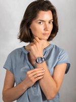 srebrny Zegarek Guess Pasek W1276L1 - duże 4
