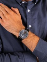 srebrny Zegarek Ingersoll The Hawley I04604 - duże 5