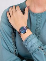 Jacques Lemans 1-1998D damski zegarek Classic bransoleta