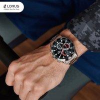 srebrny Zegarek Lorus Sportowe RM333FX9 - duże 9
