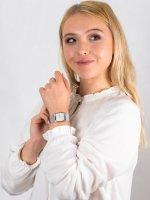 srebrny Zegarek Obaku Denmark Bransoleta V102LCCMC - duże 4