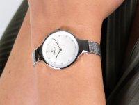 srebrny Zegarek Obaku Denmark Bransoleta V173LXCIMC - duże 6