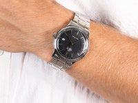 srebrny Zegarek Orient Classic RA-AC0006B10B - duże 6