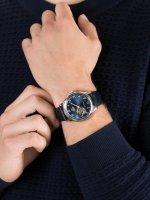 srebrny Zegarek Orient Classic RA-AG0015L10B - duże 5