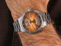 srebrny Zegarek Orient Contemporary FEU00002PW - duże 6
