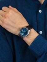 Orient RA-AX0007L0HB męski zegarek Contemporary pasek