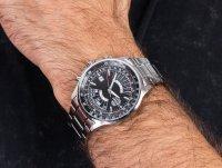 zegarek Orient FEU07005BX srebrny Sports